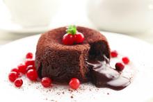 Hot Chocolate Pudding With Fon...