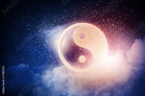 Fotografija  Yin yang symbol