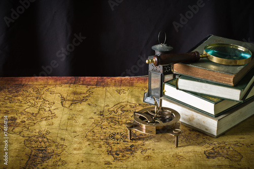 Magnifier with lantern with...