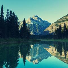 Fototapeta turksowy krajobraz górski