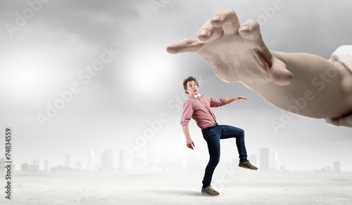 Photo Running man