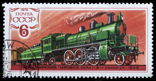 Poster  Locomotives