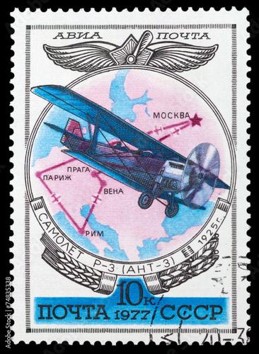 Fotografia  Soviet aircraft