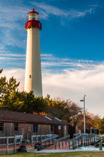 The Cape May Point Lighthouse, In Cape May, New Jersey.