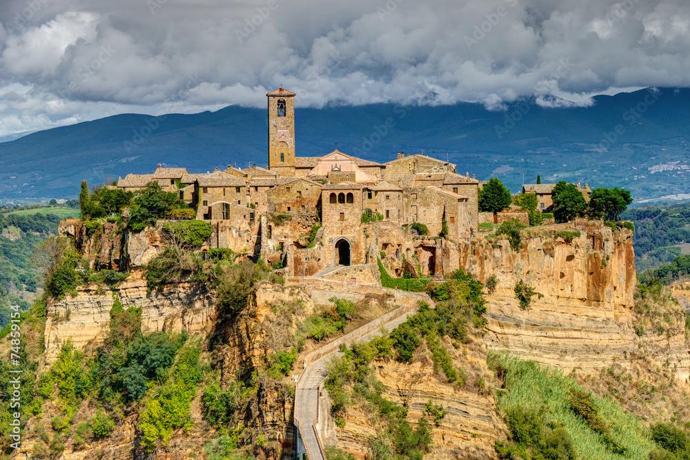 Fototapety, obrazy: Civita di Bagnoregio, Lacjum, Włochy