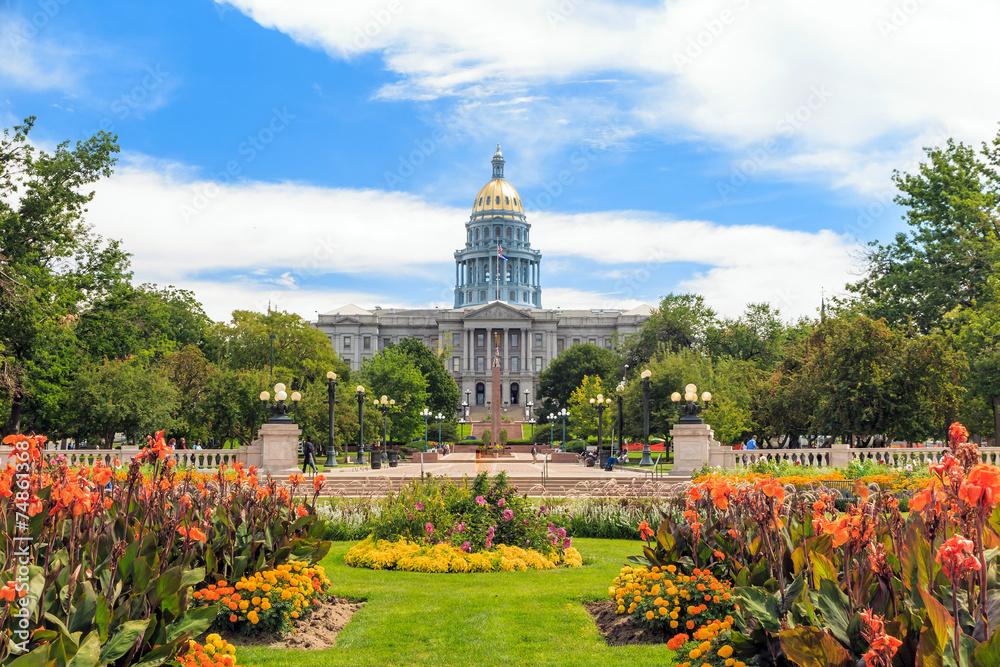 Fototapety, obrazy: Colorado State Capitol Building