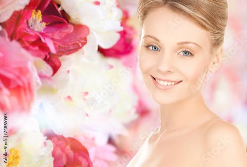 Fotobehang womenART beautiful young woman face