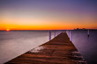 A pier at sunset, Kent Island, Maryland.