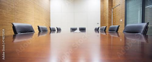 Obraz modern office meeting room interior - fototapety do salonu