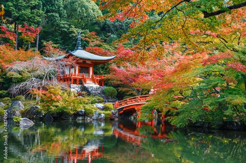 Poster de jardin Kyoto Daigoji Temple in Kyoto