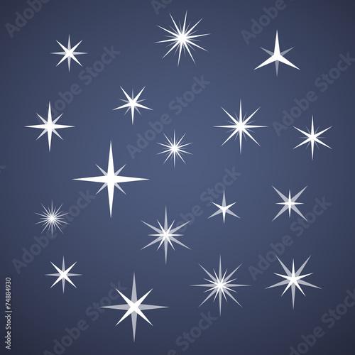 Obraz Vector sparkles - fototapety do salonu
