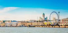 Panorama Of Embankment In Hels...
