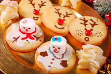 Funny Christmas Cookies Made By Kids