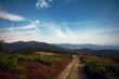 Mountain road cloudscape