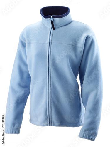 Obraz na płótnie blue pola jacket for woman