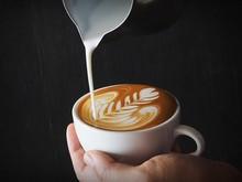 Latte Art Coffee Collage