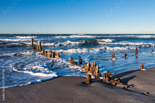 Foto auf Acrylglas Bestsellers Buhne an der Ostsee