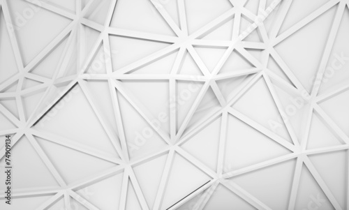 Abstract 3d background with polygonal relief pattern #74909134
