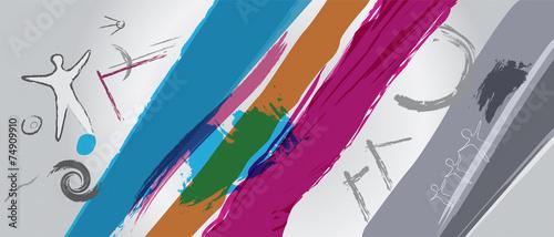 Vászonkép Cool Abstract Illustration