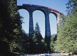 Landwasserviadukt der Rätischen Bahn, Schweiz