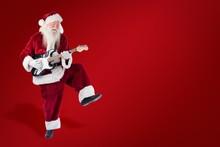 Composite Image Of Santa Claus...