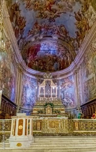 Photo Inside the Basilica di San Sebastiano.