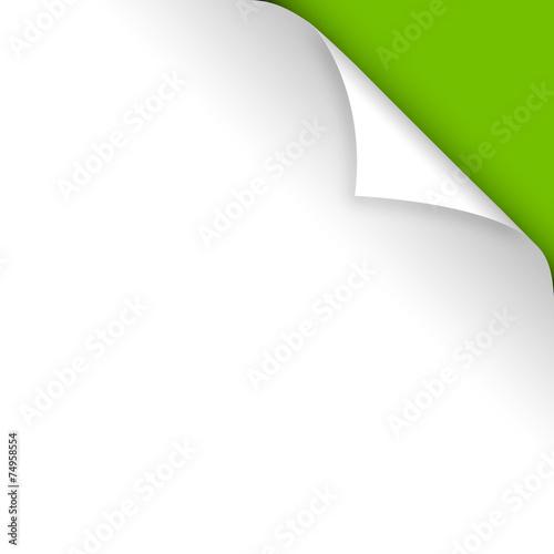 Fényképezés  piega carta, foglio, angolo, piega