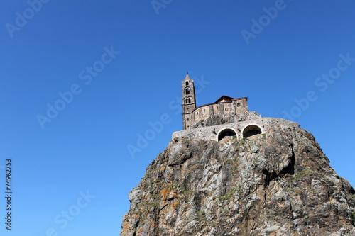 Fotografie, Obraz  chiesa sulla roccia