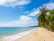 Tropical beach of Koh Samui island