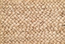 Woven Sisal & Wool Rug Backgro...