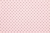 różowa tkanina w kropki - 74972733