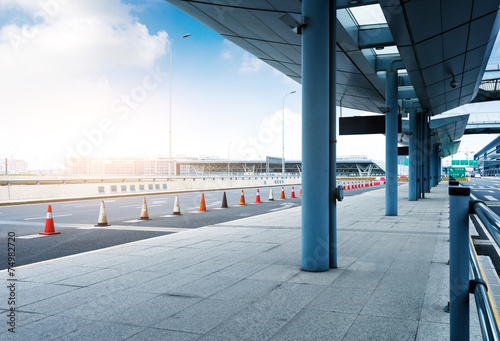 Foto op Aluminium Luchthaven Shanghai
