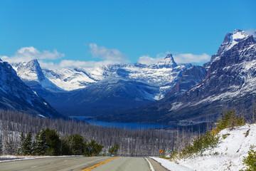 fototapeta Park Narowowy Glacier Park