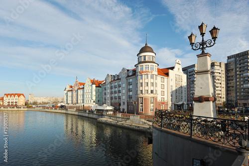 Fotografía  Kaliningrad, Russia - 14 DECEMBER: Fish village in Kaliningrad s