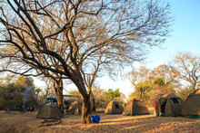Camping In A National Park In Africa
