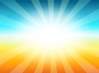 Vintage Background with Sunrise Shining