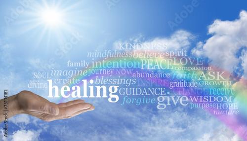 Photo  Sending Rainbow Healing