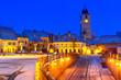 Leinwanddruck Bild - Sibiu, Romania