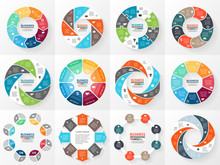 Business Circle Infographic, D...