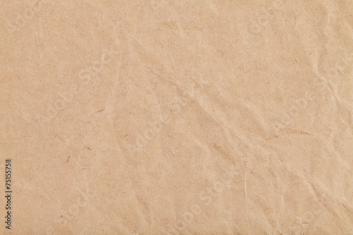 Fotografering background from sheet of crumpled kraft paper