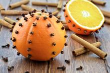 Pomarańcze Z Cynamonem Na Dre...