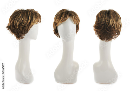 Fotografia Hair wig over the mannequin head