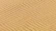 Real sandstorm in desert, close up