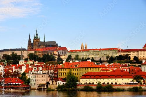 Prague Castle in the Czech Republic Poster