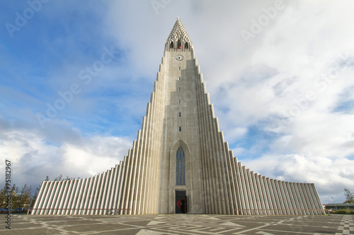 Fényképezés  Hallgrimskirkja Cathedral in Reykjavik