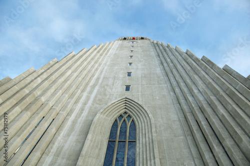Valokuva  Hallgrimskirkja Cathedral in Reykjavik