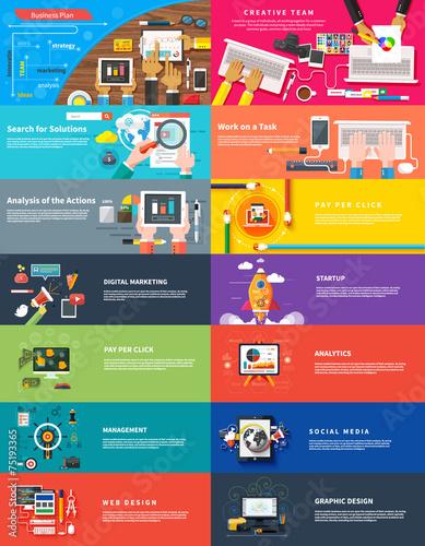 Fotografía  Management digital marketing srartup planning seo