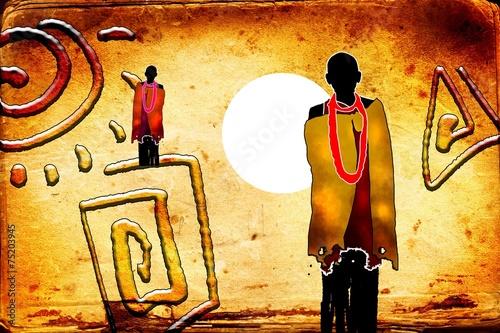 afryka-retro-styl-vintage