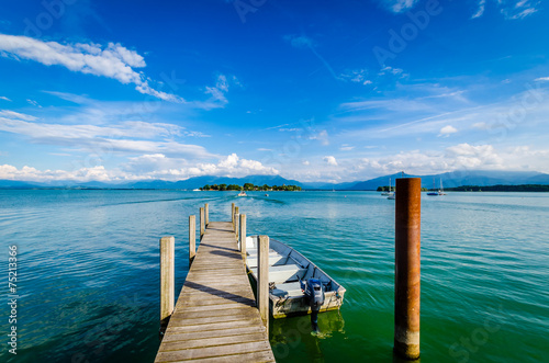 Fotomural am Chiemsee 2