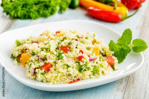 couscous salad - Couscous-Salat
